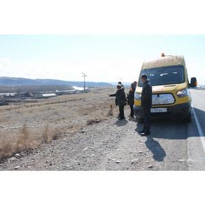 Активисты ОНФ в Туве призвали чиновников оборудовать остановки по маршруту школьного автобуса
