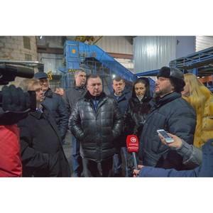 В Нижневартовске продолжается работа по внедрению новой системы обращения с твердыми отходами