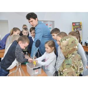 Красноярскэнергосбыт организовал для красноярских школьников «Уроки воды»