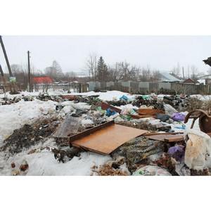 Жители Ромоданова устроили несанкционированную свалку по улице Южная