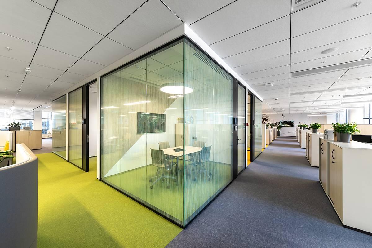 Освещение офиса компании «3М»