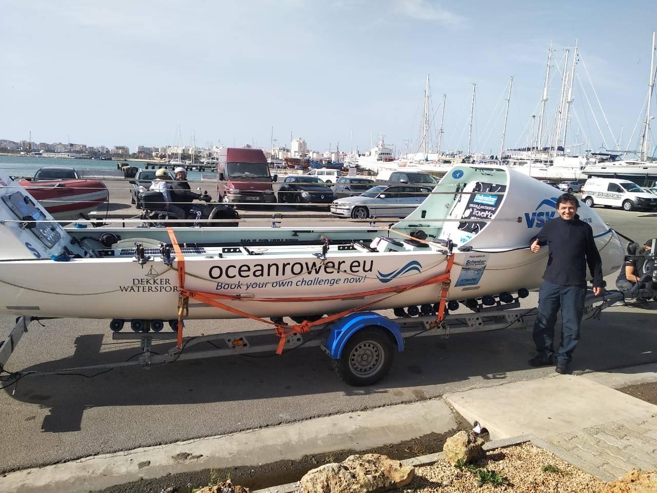 Сотрудник ВСК примет участие в установлении мирового рекорда при переходе через Атлантику