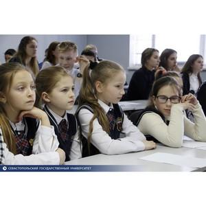 В СевГУ прошла защита школьных социальных проектов