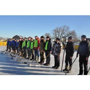 Специалисты Тамбовэнерго приняли участие в необычном хоккейном турнире