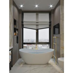 Лайфхак от «Метриум»: Как использовать окно в ванной комнате