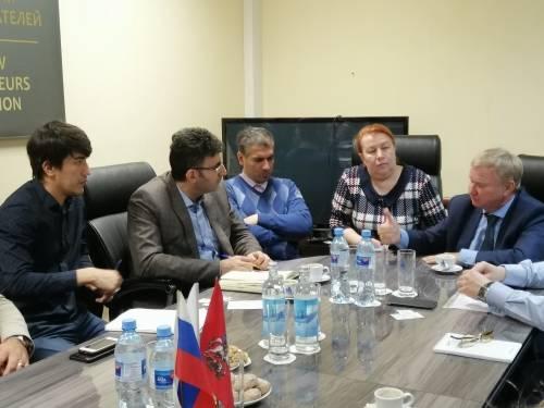 Рабочая встреча руководителей ассоциации с торговым атташе Исламской Республики Иран