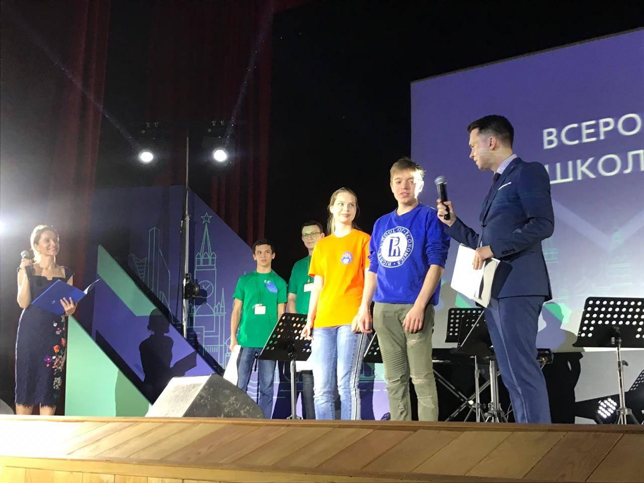 Награждены победители заключительного этапа Всероссийской олимпиады школьников по экономике