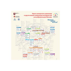 Карта добрых дел в Москве будет обновлена