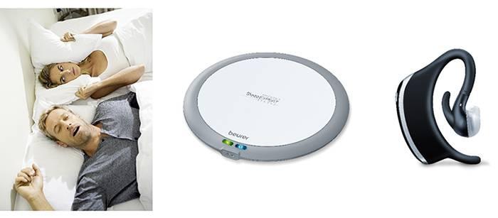 Beurer представляет датчик сна SE 80 SleepExpert и устройство против храпа SL70