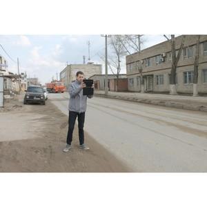 В Волгограде после вмешательства ОНФ на улице Джаныбековской устранили коммунальную аварию