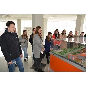 Студенты ВГТУ побывали на Воронежском филиале «Евроцемент груп»
