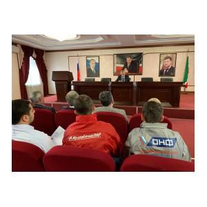 Активисты ОНФ в Чечне обратили внимание властей на убитые участки дорог республики