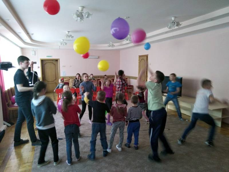 «Молодежка ОНФ» в Мордовии организовала игры для детей из социального приюта «Надежда»