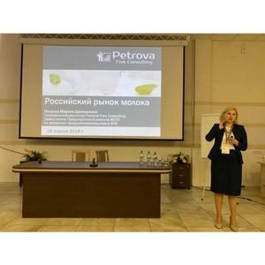 Марина Петрова: «Белорусские производители наращивают поставки молочных продуктов в Россию»