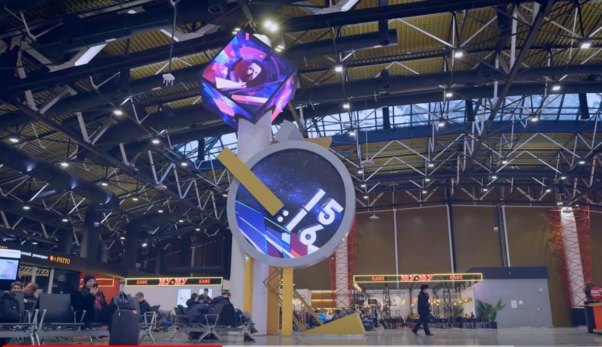 Tegrus и LG обеспечили Шереметьево суперсовременной системой визуализации