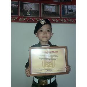 Юный певец из Тувы стал лауреатом III степени фестиваля детской патриотической песни