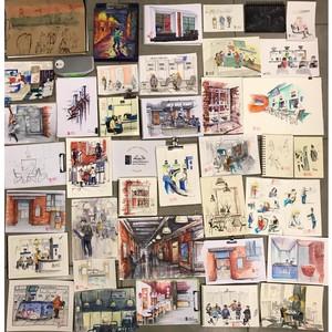 Urban Sketchers SPb рисует Единый центр документов