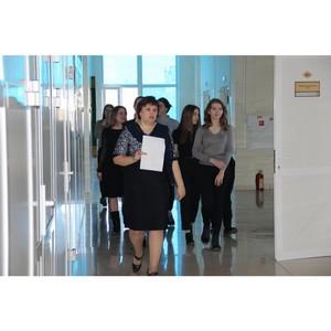 Управление Росреестра по Курганской области открыло свои двери для гимназистов