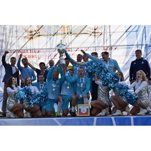Сборная ФСК ЕЭС выиграла отраслевые соревнования по мини-футболу