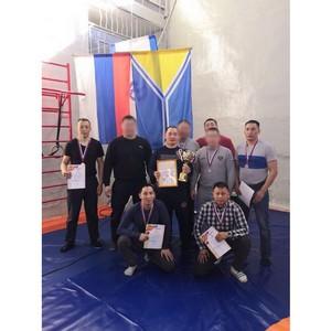 Команда Росгвардии Тувы выиграла кубок «Динамо» по самбо