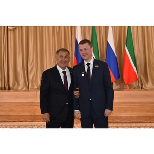 Вадим Махеев удостоен звания «Заслуженный работник пищевой промышленности Республики Татарстан»