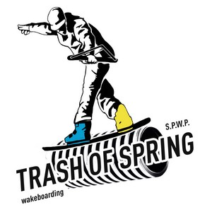 Соревнования по вейкбордингу в луже Trash of Spring 2019