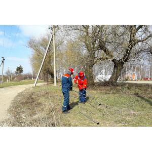 Выполнение работ вблизи ВЛ может привести к нарушению электроснабжения и к гибели людей