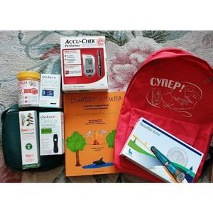 Активисты ОНФ на Камчатке будут вручать детям, заболевшим диабетом I типа, диарюкзаки
