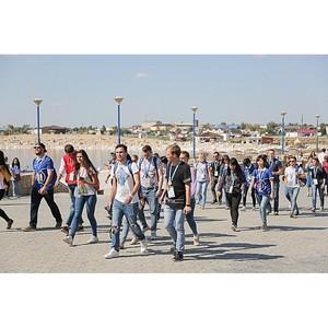 Участники молодежного форума «Евразия» побывали в Соль-Илецком городском округе