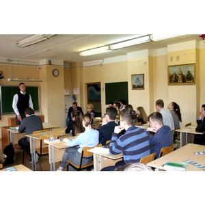 Специалисты «Ивэнерго» знакомят старшеклассников с профессией энергетика