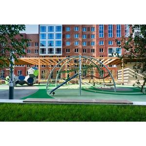 ƒатска¤ компани¤ Kompan разработала безопасные игровые площадки дл¤ квартала Sreda