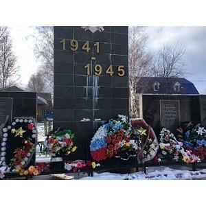 ОНФ в Югре проверил состояние мемориалов «Вечный огонь» в регионе