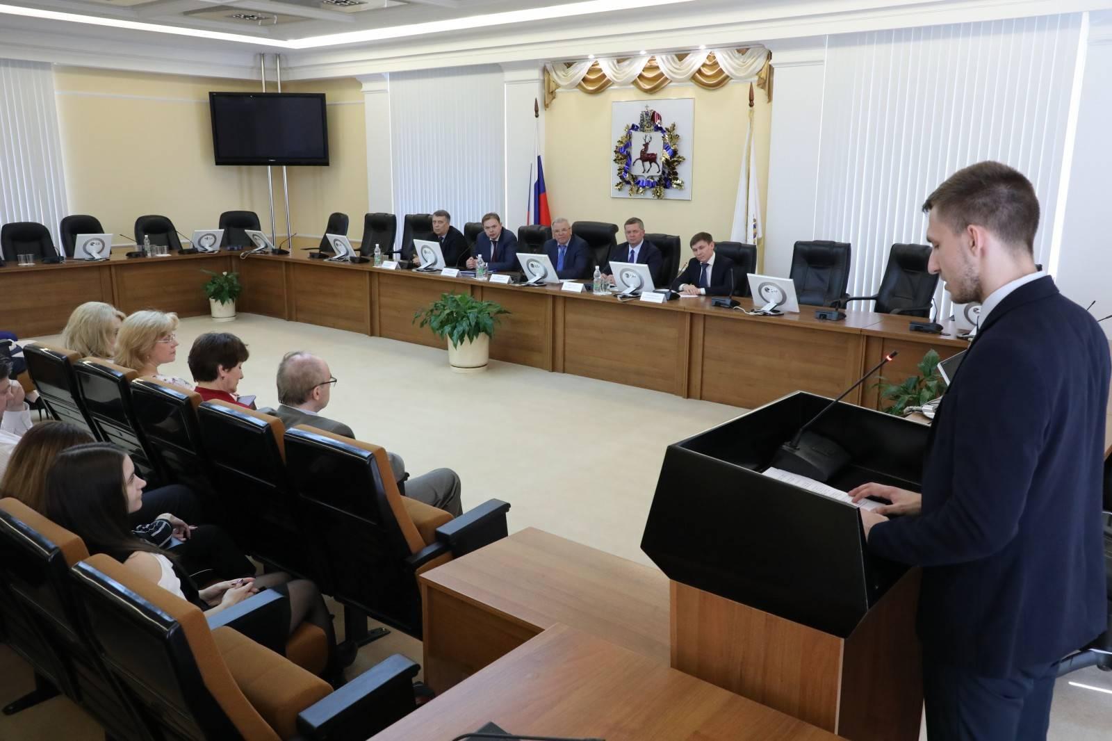 Вице-губернатор Нижегородской области встретился со студентами Дзержинского филиала РАНХиГС