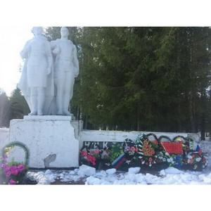 По обращению активистов ОНФ в Коми будет отремонтирован мемориал памяти павшим в годы ВОВ воинам