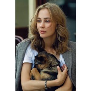 Актриса Татьяна Бабенкова призывает людей помогать животным
