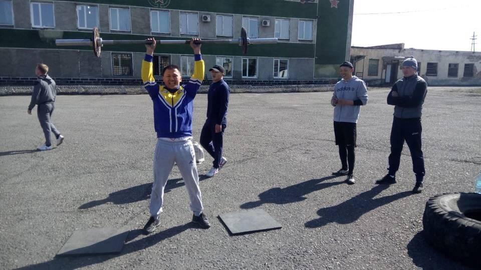 Росгвардия Тувы отметила день Динамо спортивным праздником