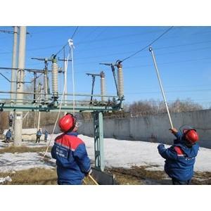 Ульяновские энергетики отработали навыки безопасного проведения работ