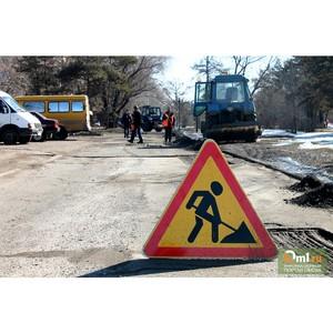 В Приморском крае завершается сезон дорожного ремонта