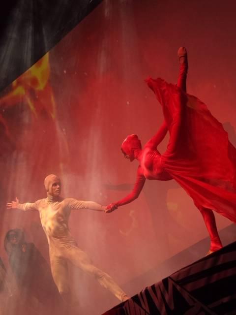 Алина Жиленко представила своё уникальное шоу «Рождение шедевра»