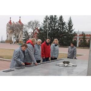 Активисты ОНФ провели мониторинг состояния Огней памяти в Амурской области