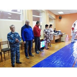 В Североуральске прошло Открытое первенство по самбо