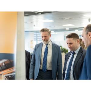 Московский офис компании «Эпирок» посетила делегация Посольства Швеции
