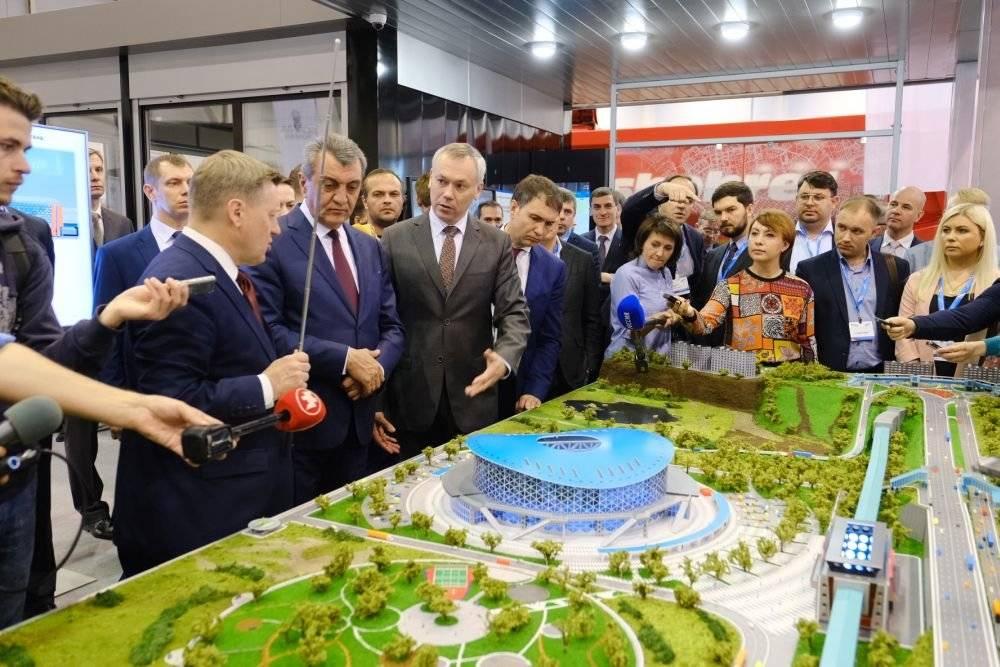 Губернатор Андрей Травников открыл Сибирский транспортный форум
