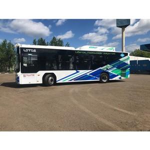 Мострансавто приступило к тестовым испытаниям нового автобуса на газовом топливе