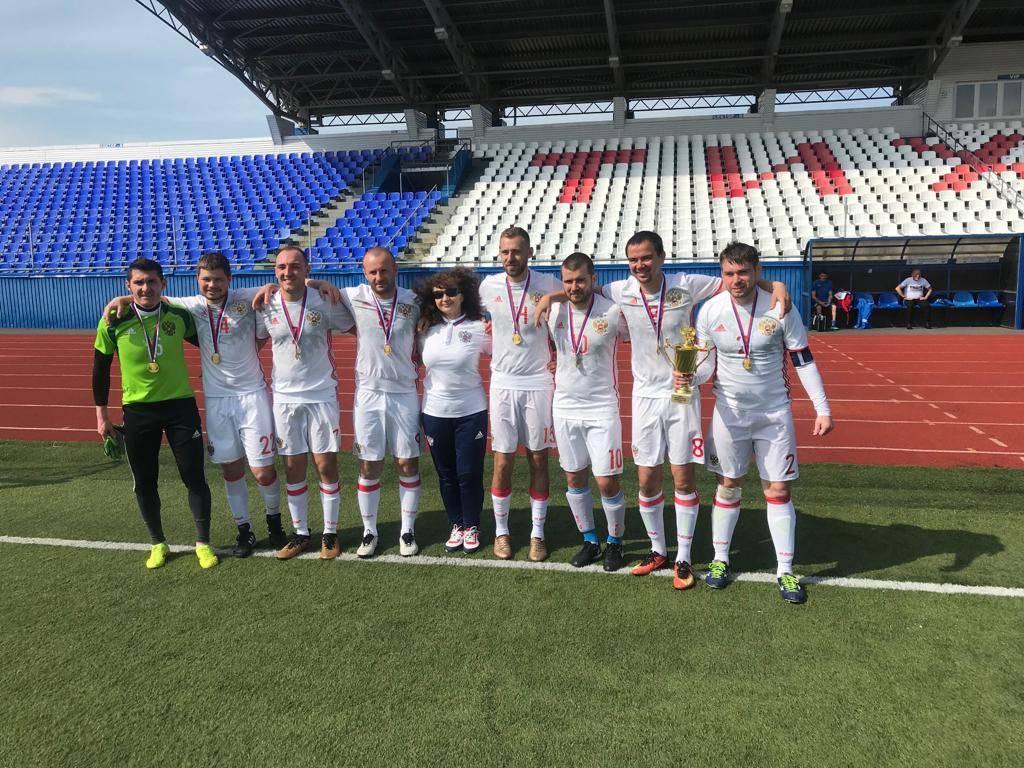 Подмосковная команда Лев Черной – Олимпия стала чемпионом России по футболу лиц с заболеванием ЦП