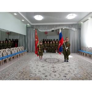 Тюменские общественники провели патриотический праздник в детском саду