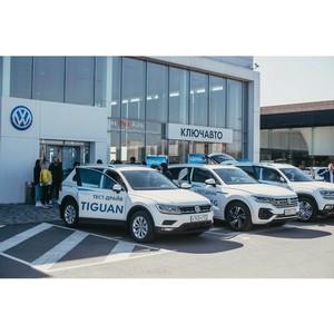 Компания Ключавто провела тест-драйв внедорожников Volkswagen