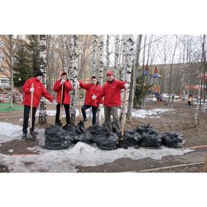 Активисты ОНФ в Коми приняли участие в акциях, приуроченных к Празднику весны и труда