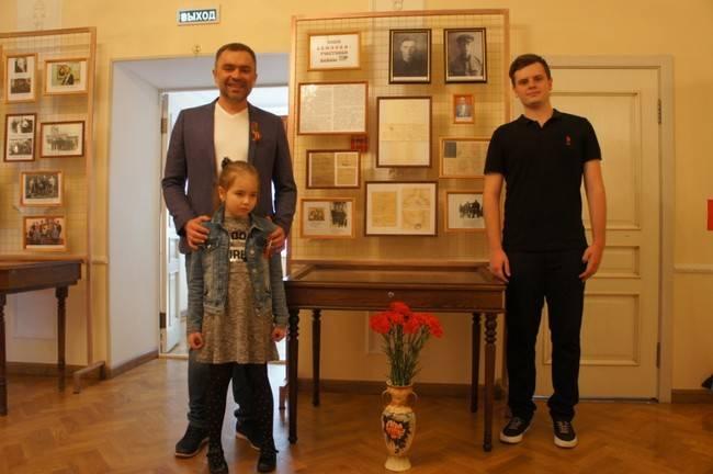 Сотрудники музея Раевского рассказали о земляках-фронтовиках