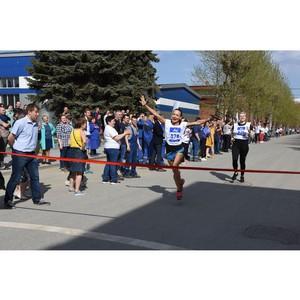 Легкоатлетическая эстафета в честь Дня Победы